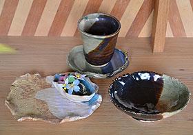 お皿とカップ